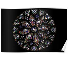 Rose Window Poster