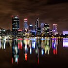 Perth At Night by Jan Fijolek