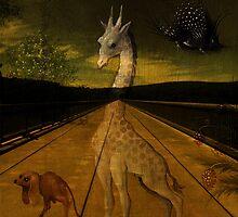 Twilight Over the Hudson by PineSinger