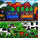 Let's Go For A Train Ride by Monica Engeler