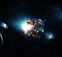 Cosmic Traveller  by Evender