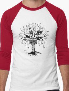 Melody Tree - Dark Silhouette Men's Baseball ¾ T-Shirt