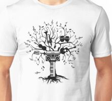 Melody Tree - Dark Silhouette Unisex T-Shirt