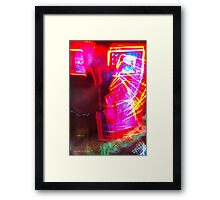 The Light Is The Art 19 (Light Painting, Ryleigh's Series A)  Framed Print