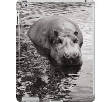 A Hippo's work is never done iPad Case/Skin