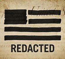 State of Secrecy Print (Redacted Version) by Michael Yi