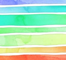Ever So Bright Rainbow Stripes Sticker