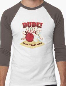 Dude! Men's Baseball ¾ T-Shirt