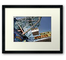 Ferris Wheel at Coney Island Framed Print
