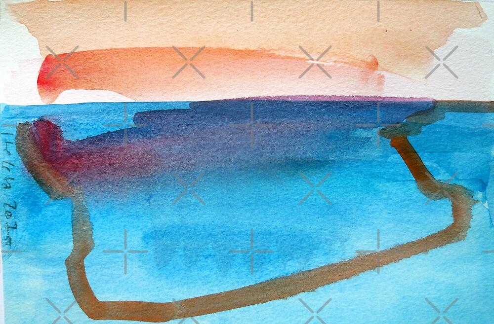 Water Reflection by Hekla Hekla