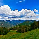 """Hiking Vail Mountain"" II - Vail, CO by AlexandraZloto"