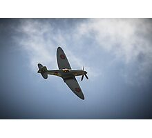 The Spitfire from The Battle of Britain Memorial Flight Photographic Print
