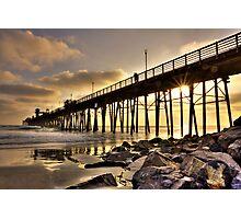 Oceanside Pier Photographic Print