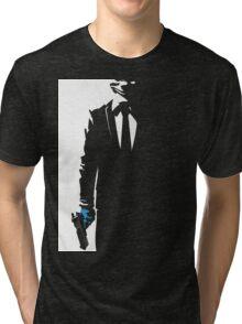 Payday 2 - Black N' White  Tri-blend T-Shirt