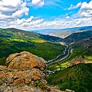 """Top Of LionHead Trail"" Minturn, Colorado by AlexandraZloto"