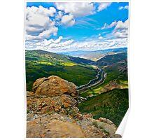 """Top Of LionHead Trail"" Minturn, Colorado Poster"