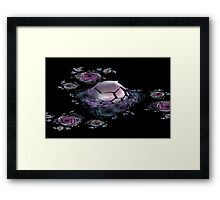 Galactic Nursery Framed Print