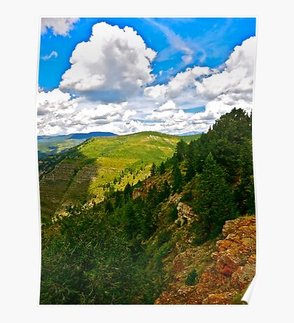 """View from LionsHead Trail"" Minturn, Colorado"" Poster"