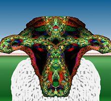Tut64#17:  Wolf in Sheep's Clothing at Mardi Gras (G1403) by barrowda
