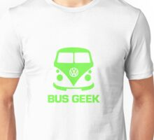 Bus Geek Green Unisex T-Shirt