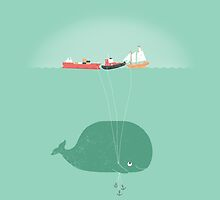 Whale Balloons by McDanger