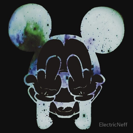 Mickey Mouse Galaxy Middle Finger | www.imgkid.com - The ...