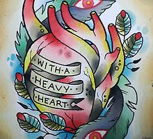 Heavy Heart by Elizabeth Dibois