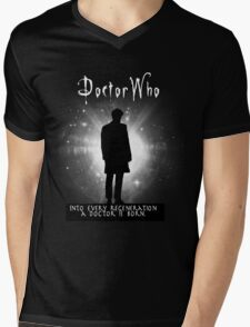 Into every regeneration a Doctor is born Mens V-Neck T-Shirt