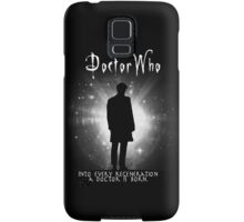 Into every regeneration a Doctor is born Samsung Galaxy Case/Skin