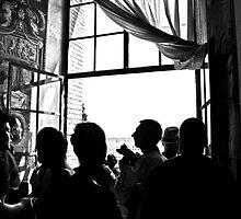 Veeeeery Crowded At The Vatican! by Ainsley Kellar Creations
