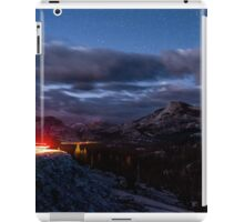 Driving Tioga Road iPad Case/Skin