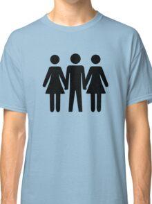 Threesome Symbol Classic T-Shirt