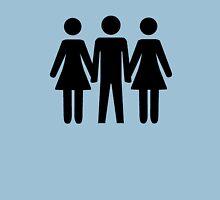 Threesome Symbol Unisex T-Shirt