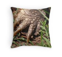 Snapping Turtle Foot Throw Pillow