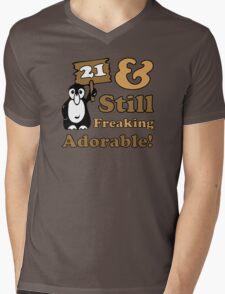 Cute 21st Birthday Gift For Women Mens V-Neck T-Shirt