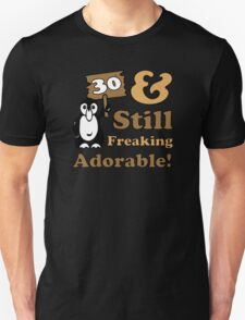 Cute 30th Birthday Gift For Women Unisex T-Shirt