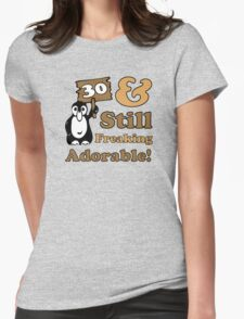Cute 30th Birthday Gift For Women Womens Fitted T-Shirt