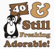 Cute 40th Birthday Gift For Women T-Shirt