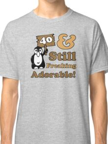Cute 40th Birthday Gift For Women Classic T-Shirt