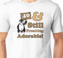 Cute 40th Birthday Gift For Women Unisex T-Shirt