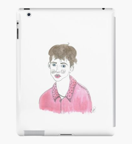 Troye Sivan Drawing iPad Case/Skin