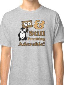 Cute 50th Birthday Gift For Women Classic T-Shirt