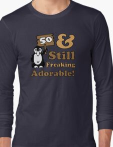 Cute 50th Birthday Gift For Women Long Sleeve T-Shirt