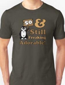 Cute 50th Birthday Gift For Women Unisex T-Shirt