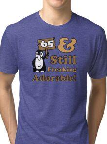Cute 65th Birthday Gift For Women Tri-blend T-Shirt