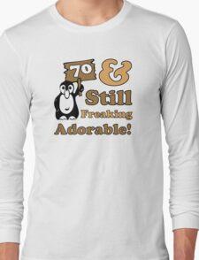 Cute 70th Birthday Gift For Women Long Sleeve T-Shirt