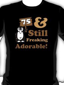 Cute 75th Birthday Gift For Women T-Shirt