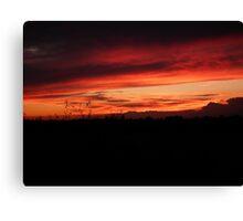 Festival Sunset Canvas Print