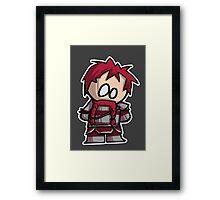 Oghren chibi Framed Print