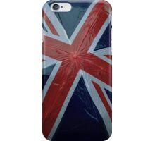 Union Jack Flag Britain! Umbrella in rainy England  iPhone Case/Skin